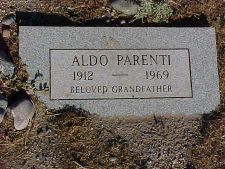 PARENTI, ALDO - Gila County, Arizona | ALDO PARENTI - Arizona Gravestone Photos