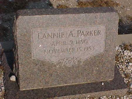 PARKER, LANNIE  A. - Gila County, Arizona   LANNIE  A. PARKER - Arizona Gravestone Photos