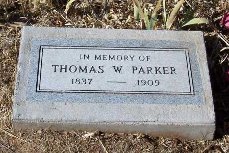 PARKER, THOMAS W. - Gila County, Arizona | THOMAS W. PARKER - Arizona Gravestone Photos