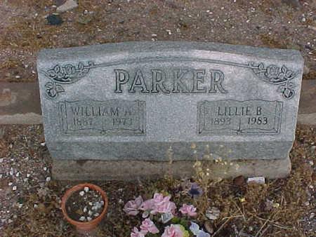 PARKER, LILLIE  B. - Gila County, Arizona | LILLIE  B. PARKER - Arizona Gravestone Photos