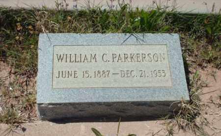 PARKERSON, WILLIAM C. - Gila County, Arizona   WILLIAM C. PARKERSON - Arizona Gravestone Photos