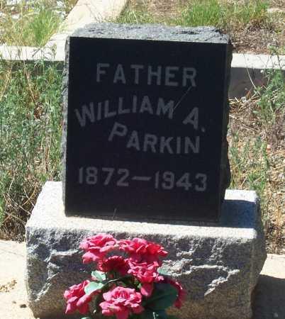 PARKIN, WILLIAM A. - Gila County, Arizona   WILLIAM A. PARKIN - Arizona Gravestone Photos