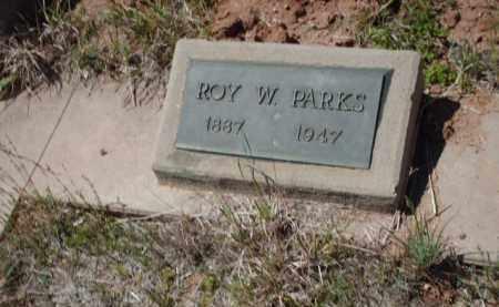 PARKS, ROY W. - Gila County, Arizona | ROY W. PARKS - Arizona Gravestone Photos
