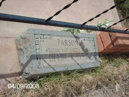 PARSONS, WILLIAM VAN - Gila County, Arizona | WILLIAM VAN PARSONS - Arizona Gravestone Photos