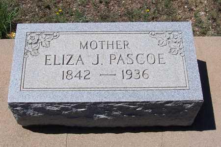 PASCOE, ELIZA J. - Gila County, Arizona | ELIZA J. PASCOE - Arizona Gravestone Photos