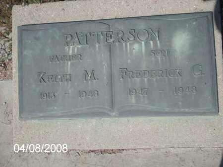 PATTERSON, FREDERICK G. - Gila County, Arizona | FREDERICK G. PATTERSON - Arizona Gravestone Photos