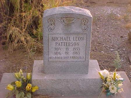 PATTERSON, MICHAEL LEON - Gila County, Arizona   MICHAEL LEON PATTERSON - Arizona Gravestone Photos