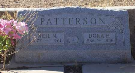 PATTERSON, DORA H. - Gila County, Arizona | DORA H. PATTERSON - Arizona Gravestone Photos