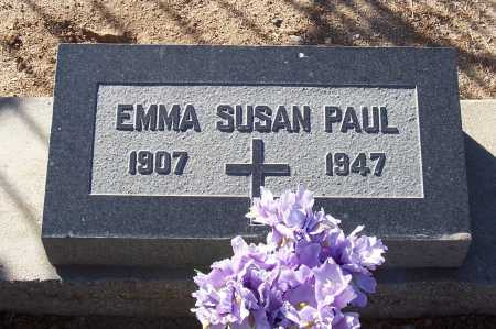 PAUL, EMMA SUSAN - Gila County, Arizona | EMMA SUSAN PAUL - Arizona Gravestone Photos