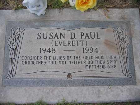 PAUL, SUSAN - Gila County, Arizona | SUSAN PAUL - Arizona Gravestone Photos
