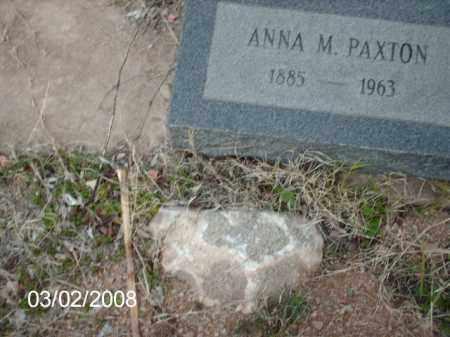 PAXTON, ANNA - Gila County, Arizona   ANNA PAXTON - Arizona Gravestone Photos
