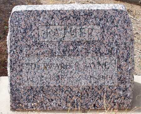 PAYNE, DURWARD E. - Gila County, Arizona | DURWARD E. PAYNE - Arizona Gravestone Photos