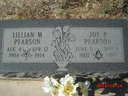PEARSON, JOE P. - Gila County, Arizona | JOE P. PEARSON - Arizona Gravestone Photos