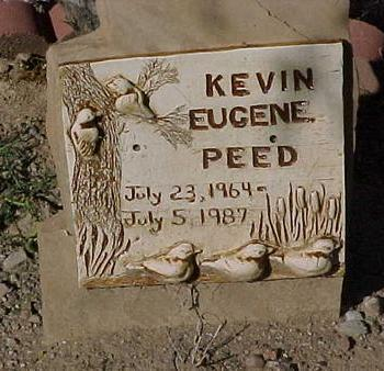 PEED, KEVIN EUGENE - Gila County, Arizona | KEVIN EUGENE PEED - Arizona Gravestone Photos