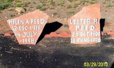 PEED, LESTER  RICHARD - Gila County, Arizona   LESTER  RICHARD PEED - Arizona Gravestone Photos