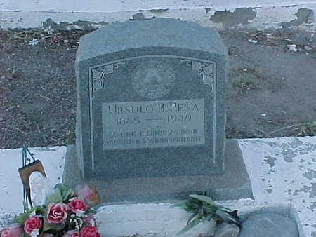 PENA, URSULO  B. - Gila County, Arizona | URSULO  B. PENA - Arizona Gravestone Photos