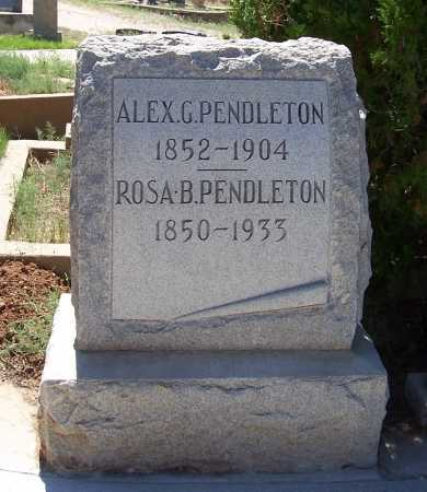 PENDLETON, ROSA B. - Gila County, Arizona | ROSA B. PENDLETON - Arizona Gravestone Photos