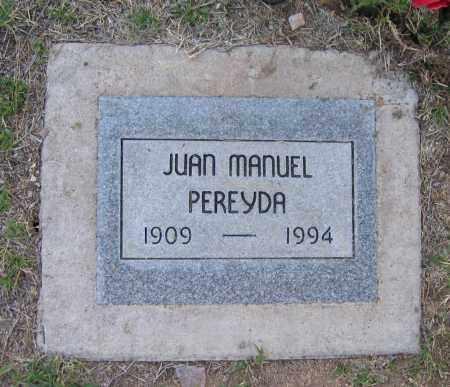PEREYDA, JUAN - Gila County, Arizona | JUAN PEREYDA - Arizona Gravestone Photos