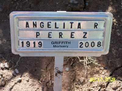 PEREZ, ANGELITA - Gila County, Arizona | ANGELITA PEREZ - Arizona Gravestone Photos