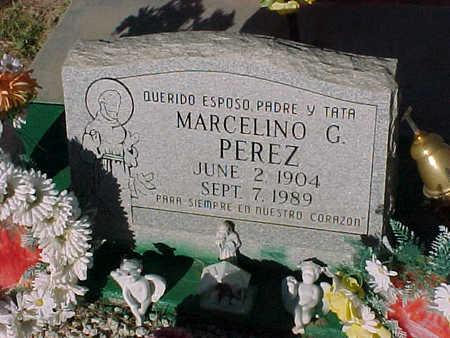 PEREZ, MARCELINO G. - Gila County, Arizona | MARCELINO G. PEREZ - Arizona Gravestone Photos