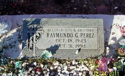 PEREZ, RAYMUNDO  G. - Gila County, Arizona | RAYMUNDO  G. PEREZ - Arizona Gravestone Photos