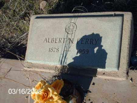 PERRY, ALBERT - Gila County, Arizona   ALBERT PERRY - Arizona Gravestone Photos