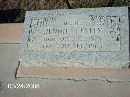 PESELY, JENNIE - Gila County, Arizona | JENNIE PESELY - Arizona Gravestone Photos