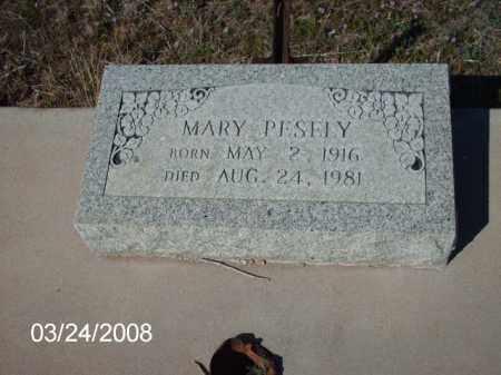 PESELY, MARY - Gila County, Arizona | MARY PESELY - Arizona Gravestone Photos