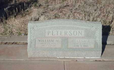 PETERSON, WILLIAM M. - Gila County, Arizona | WILLIAM M. PETERSON - Arizona Gravestone Photos