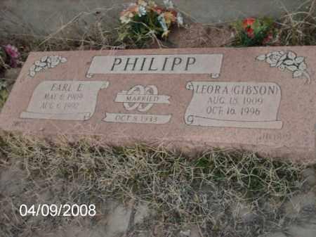 PHILIPP, EARL - Gila County, Arizona   EARL PHILIPP - Arizona Gravestone Photos