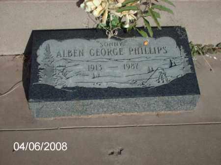 PHILLIPS, ALBEN - Gila County, Arizona | ALBEN PHILLIPS - Arizona Gravestone Photos