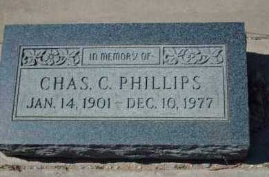 PHILLIPS, CHARLES C. - Gila County, Arizona   CHARLES C. PHILLIPS - Arizona Gravestone Photos