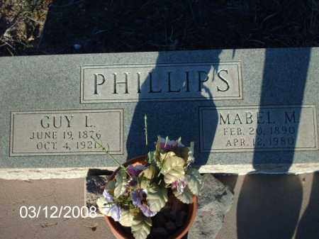 PHILLIPS, GUY L. - Gila County, Arizona | GUY L. PHILLIPS - Arizona Gravestone Photos