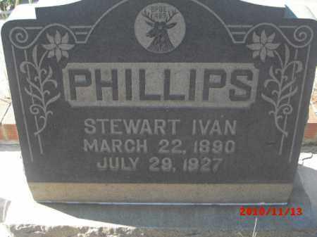 PHILLIPS, STEWART IVAN - Gila County, Arizona | STEWART IVAN PHILLIPS - Arizona Gravestone Photos