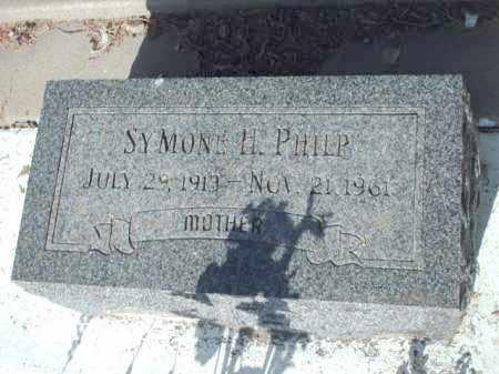PHILP, SYMONE H. - Gila County, Arizona | SYMONE H. PHILP - Arizona Gravestone Photos