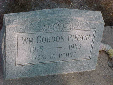 PINSON, WILLIAM  GORDON - Gila County, Arizona | WILLIAM  GORDON PINSON - Arizona Gravestone Photos