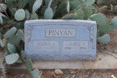 PINYAN, LAUREL V. - Gila County, Arizona | LAUREL V. PINYAN - Arizona Gravestone Photos