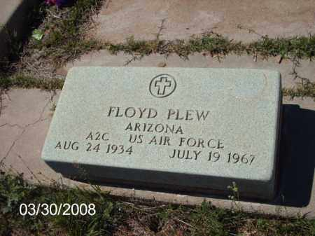 PLEW, FLOYD - Gila County, Arizona | FLOYD PLEW - Arizona Gravestone Photos