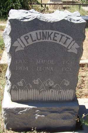 PLUNKETT, MAUDE - Gila County, Arizona   MAUDE PLUNKETT - Arizona Gravestone Photos