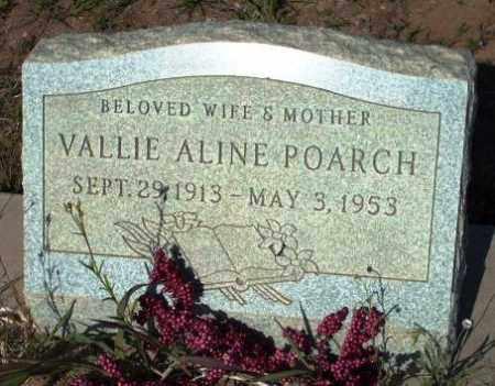POARCH, VALLIE ALINE - Gila County, Arizona | VALLIE ALINE POARCH - Arizona Gravestone Photos