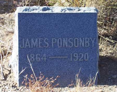 PONSONBY, JAMES - Gila County, Arizona   JAMES PONSONBY - Arizona Gravestone Photos