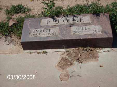 EMMETT, NELLA K. - Gila County, Arizona | NELLA K. EMMETT - Arizona Gravestone Photos