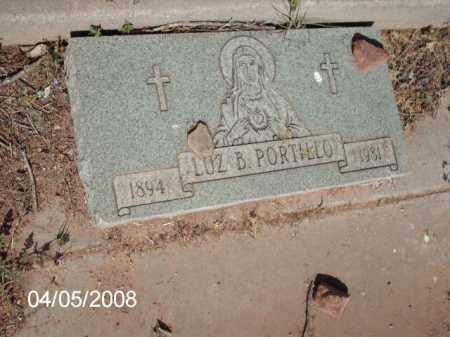 PORTILLO, LUZ B. - Gila County, Arizona | LUZ B. PORTILLO - Arizona Gravestone Photos