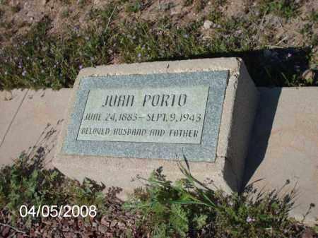PORTO, JUAN - Gila County, Arizona | JUAN PORTO - Arizona Gravestone Photos