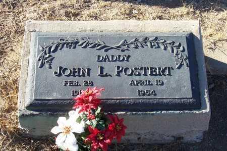 POSTERT, JOHN L. - Gila County, Arizona   JOHN L. POSTERT - Arizona Gravestone Photos