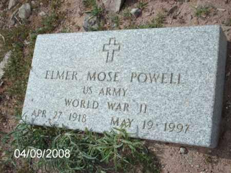 POWELL, ELMER MOSE - Gila County, Arizona | ELMER MOSE POWELL - Arizona Gravestone Photos