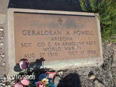 POWELL, GERALDEAN - Gila County, Arizona | GERALDEAN POWELL - Arizona Gravestone Photos