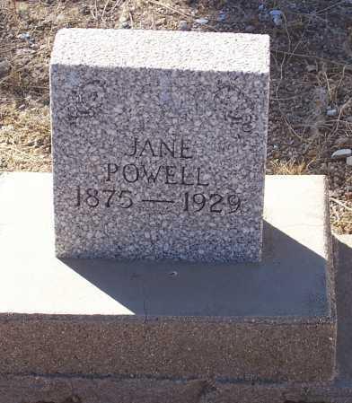 THOMAS POWELL, FRANCES JANE - Gila County, Arizona | FRANCES JANE THOMAS POWELL - Arizona Gravestone Photos