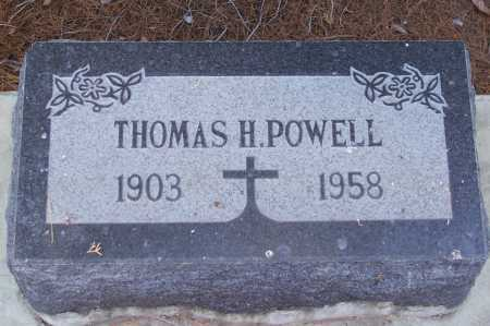 POWELL, THOMAS H. - Gila County, Arizona | THOMAS H. POWELL - Arizona Gravestone Photos
