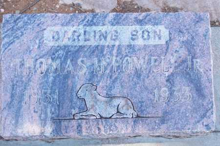 POWELL, THOMAS H. JR. - Gila County, Arizona | THOMAS H. JR. POWELL - Arizona Gravestone Photos